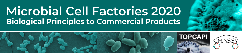 Logo - Microbial Cell Factories 2020 - Biological Principles to Commercial Products